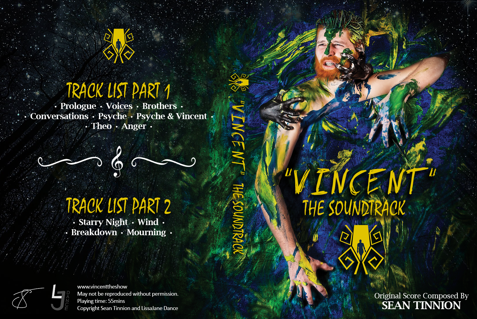 Vincent CD Cover